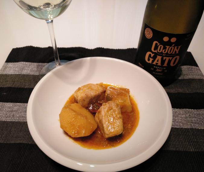 Marmitaco + Cojón de Gato Godello
